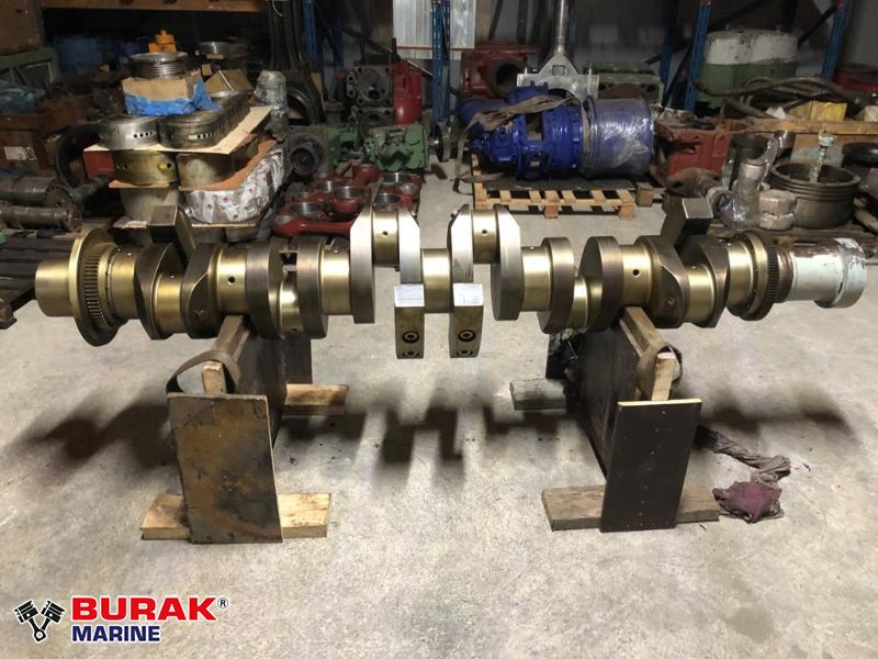 DEUTZ 6M628 CRANKSHAFT