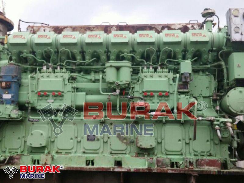 DEUTZ 8M628 DIESEL ENGINE