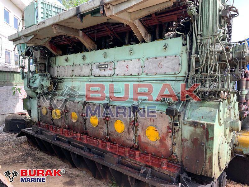 DEUTZ RBV 6M540 DIESEL ENGINE