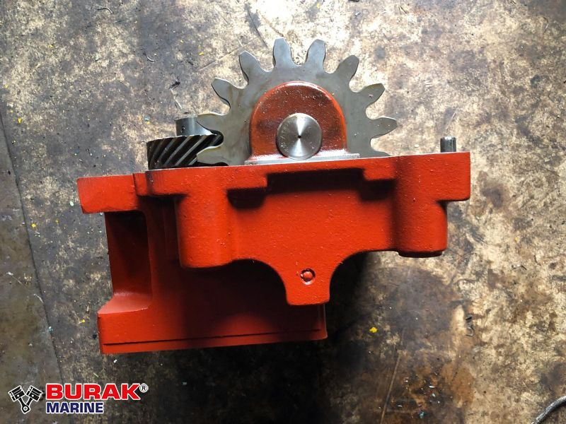 GOVERNOR DRIVE ASSEMBLY MAK 8M32C