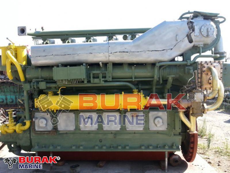 MAK 6M452AK DIESEL ENGINE