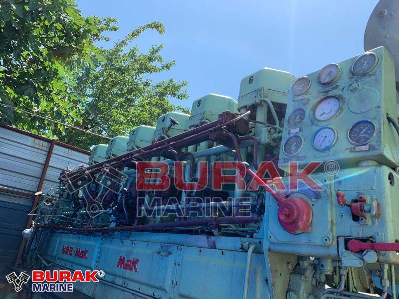 MAK 6M453AK DIESEL ENGINE