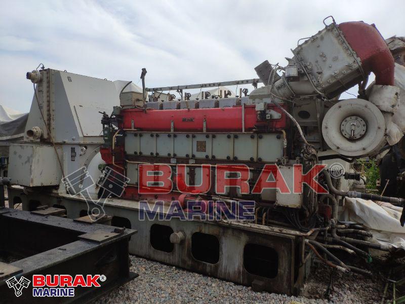 MAK 8M332AK DIESEL ENGINE