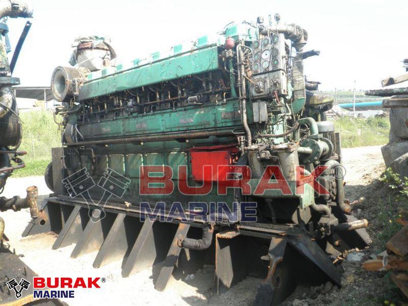 MAK 8M453AK DIESEL ENGINE