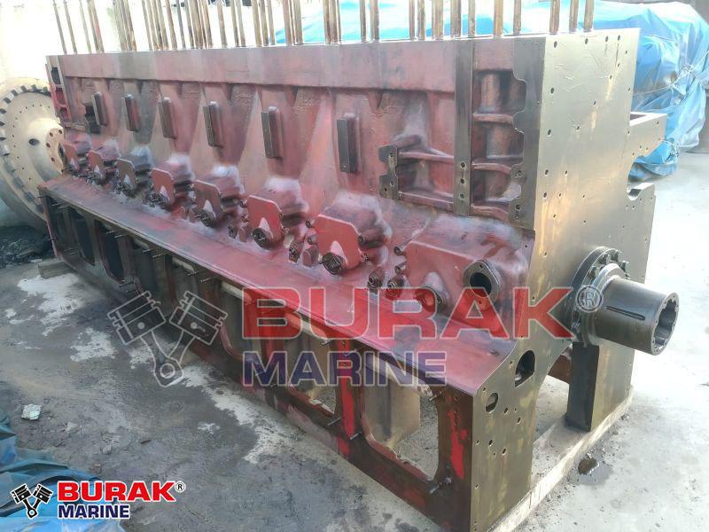MAK 8M453C ENGINE BLOCK