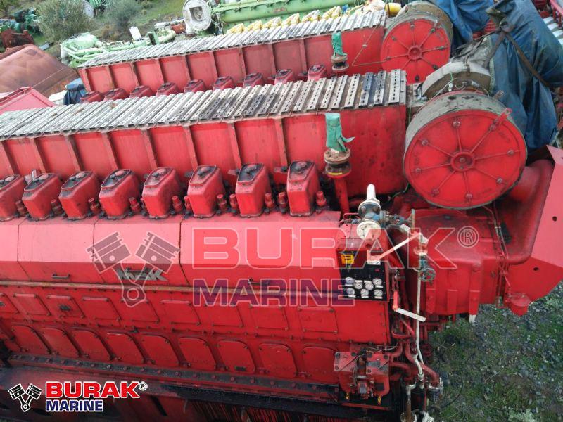 MAK 9M25 Diesel Engines