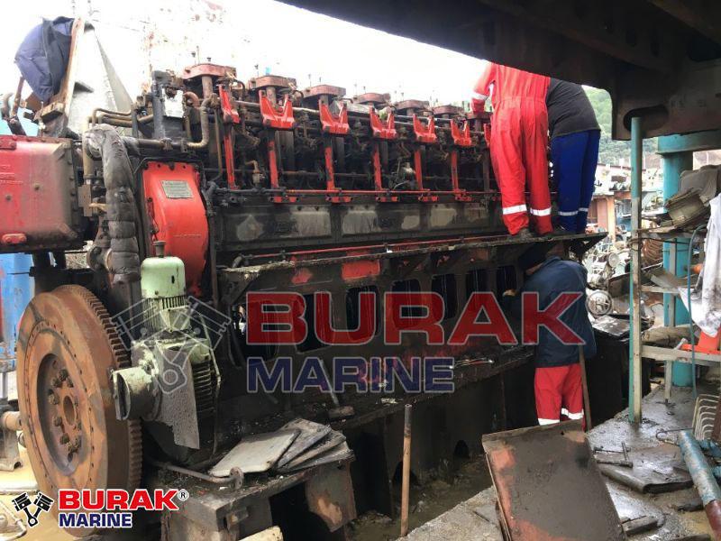 MAK 9M453C ENGINE BLOCK