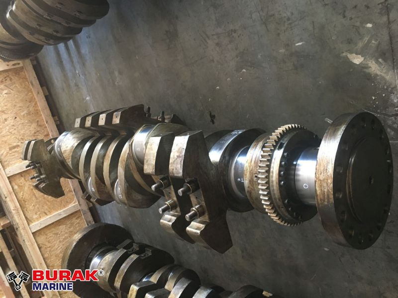 MAN B&W 6L27/38 CRANKSHAFT