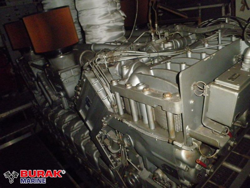 MTU 16V595 Complete Engines