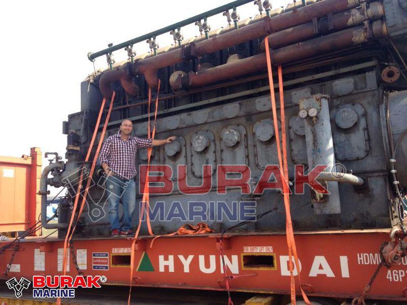 RUSTON 9ATC ENGINE SHIPMENT