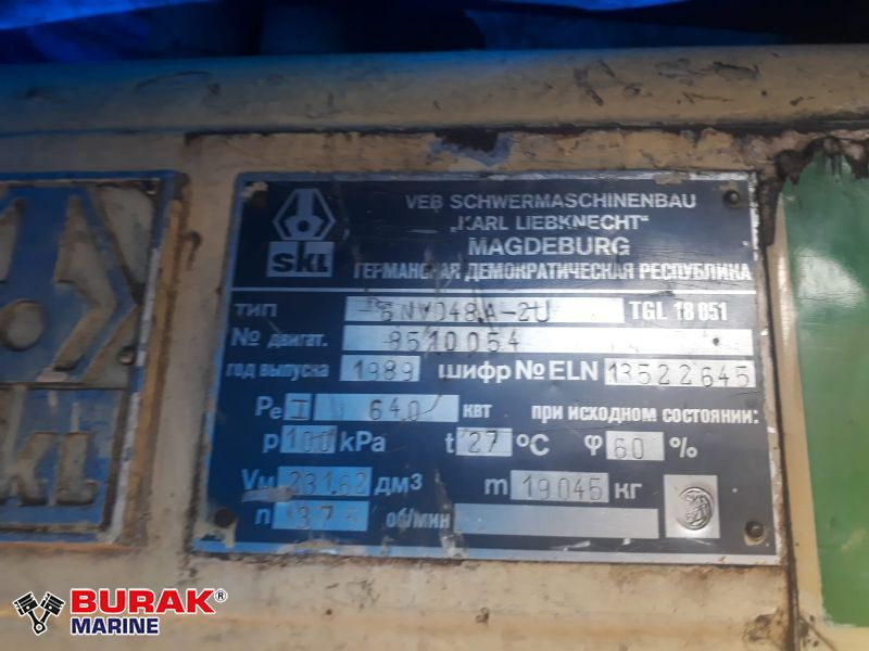 SKL 6NVD48A-2U Complete Engine
