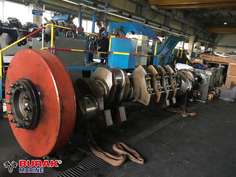 SKL 6VDS 48/42AL2 CRANKSHAFT