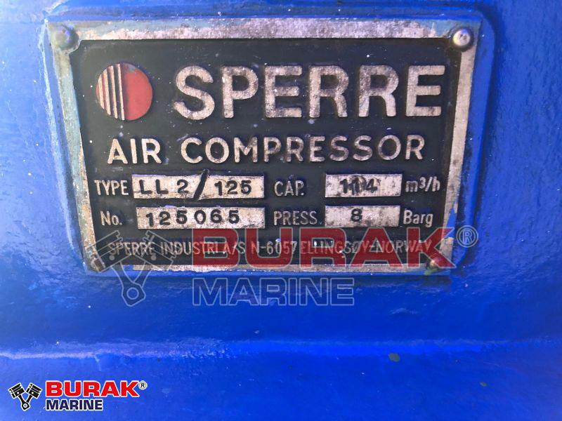 SPERRE LL2/125 Air Compressor