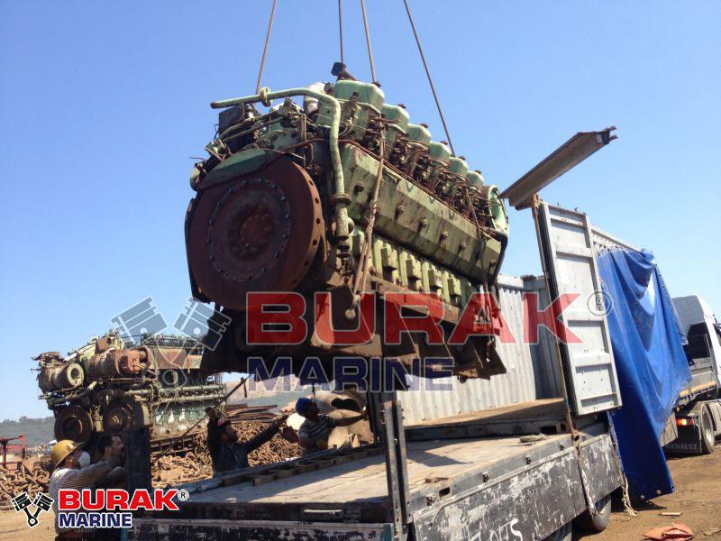 SULZER 12ASV25/30 Complete Engine