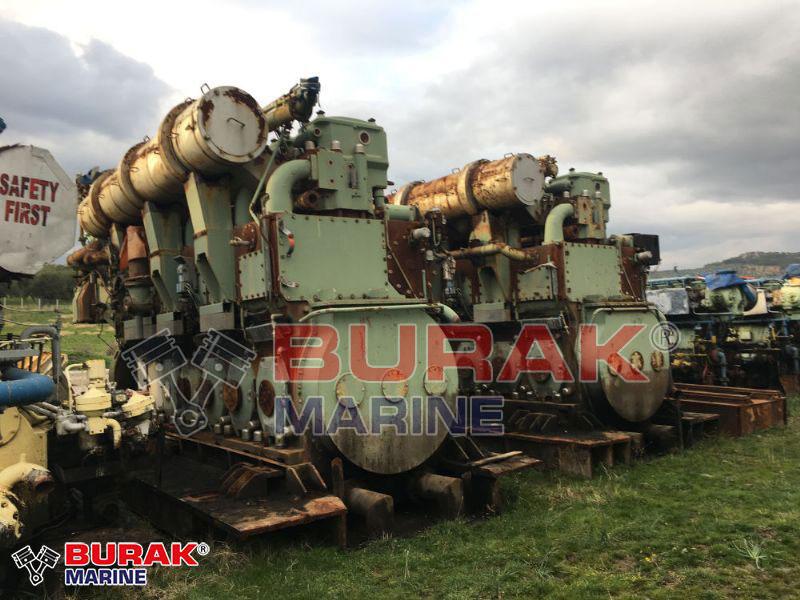 SULZER 6ZAL40S Complete Engines