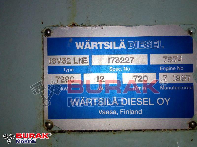 WARTSILA  18V32LN Gensets