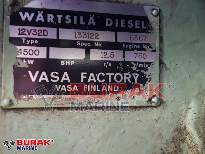 WARTSILA 12V32D Diesel Engine