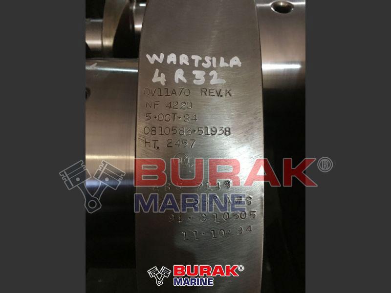 WARTSILA 4R32 CRANKSHAFT