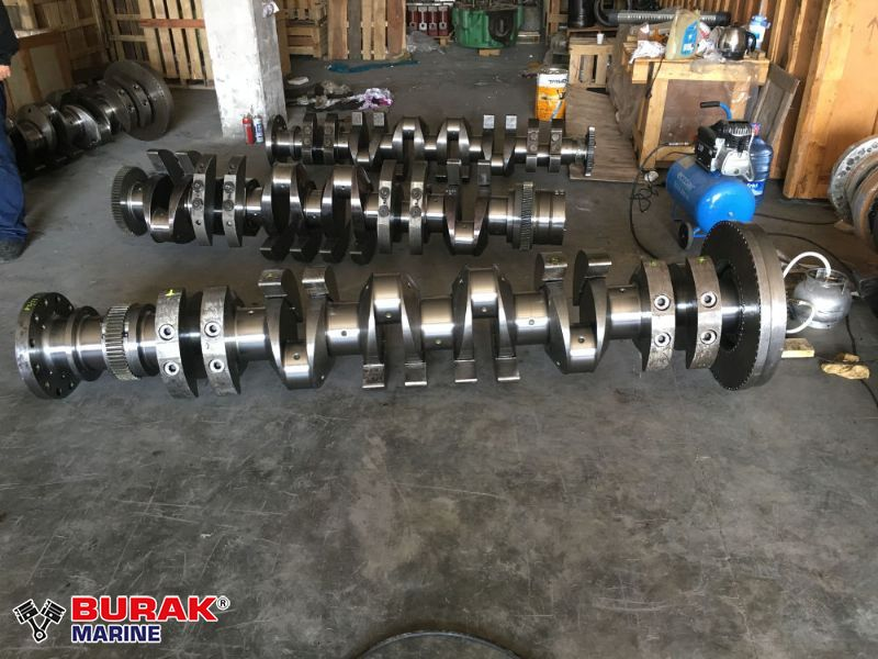 WARTSILA 6R22/26 CRANKSHAFT