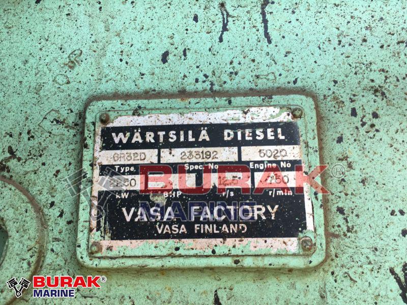 WARTSILA 6R32D Main Engine