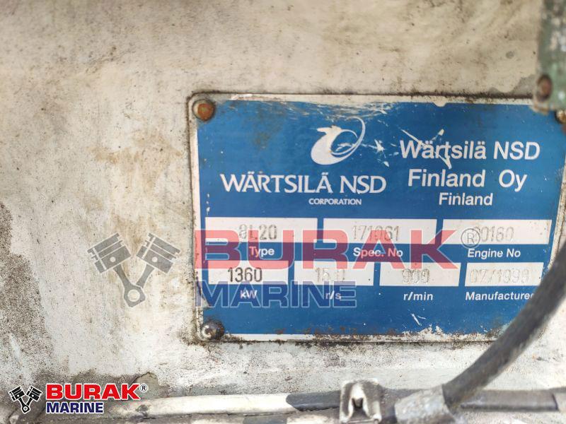WARTSILA 8L20 Diesel Engine
