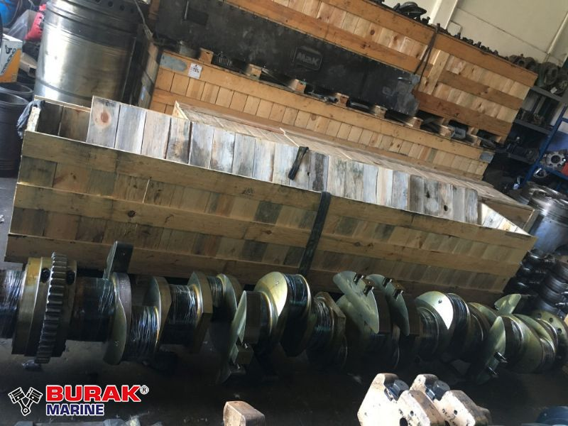WARTSILA 8L26 CRANKSHAFT