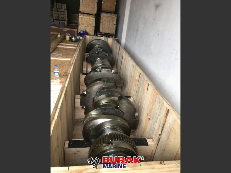WARTSILA 8R32 CRANKSHAFT